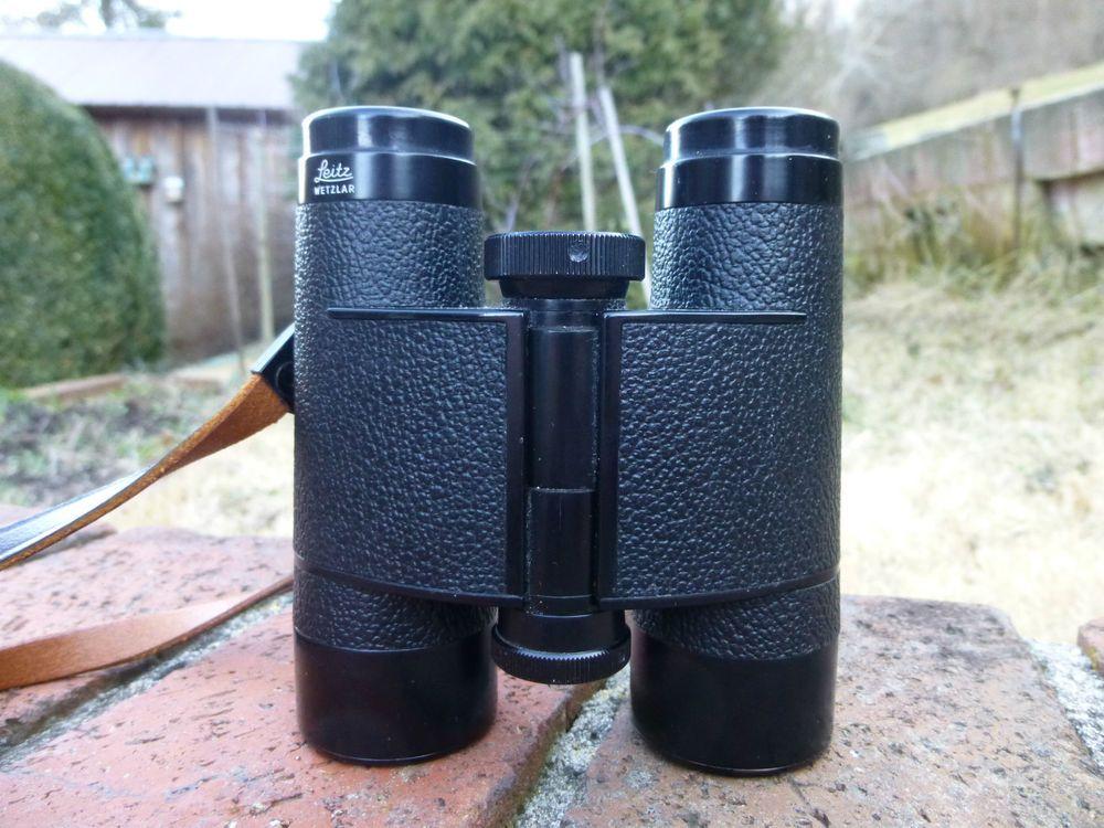 Leitz wetzlar trinovid m m binoculars germany