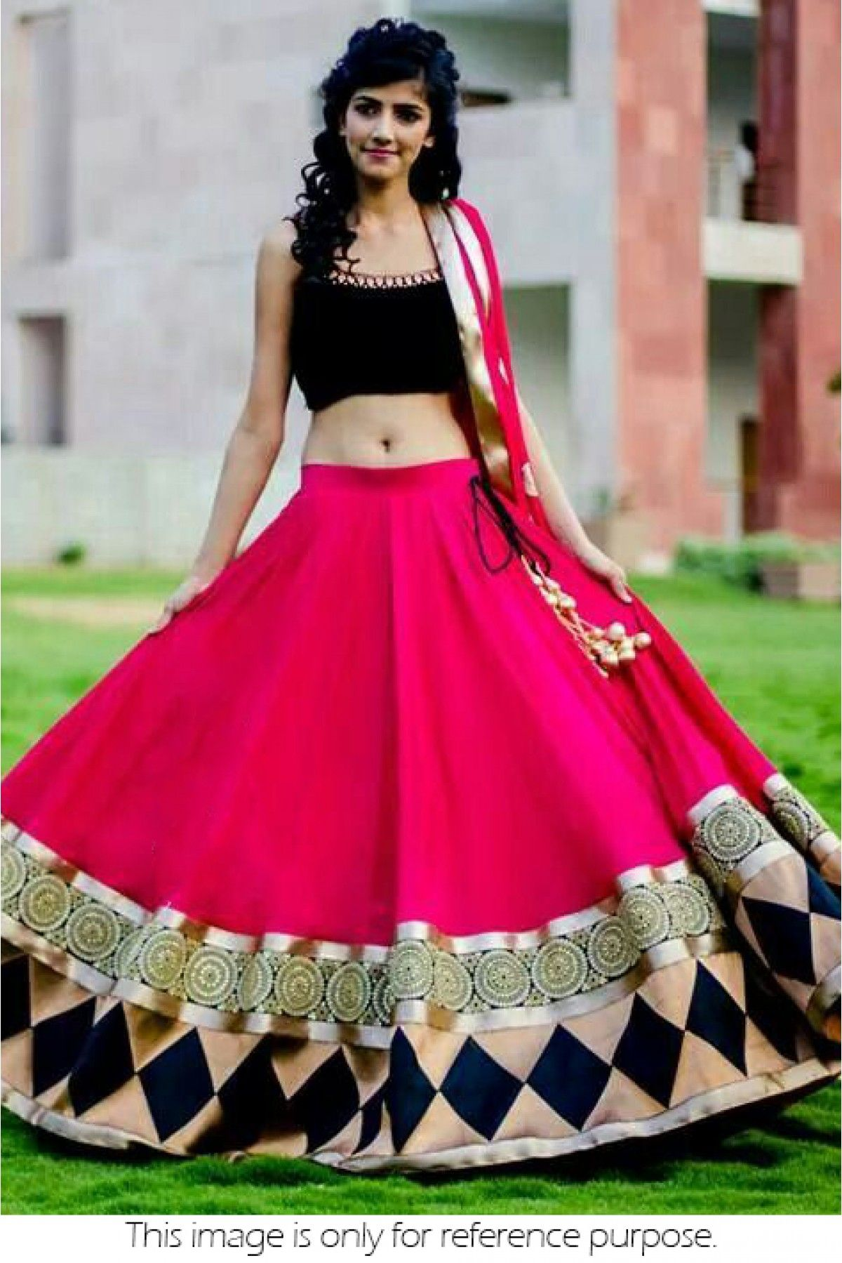 Bollywood Style Model Georgette Lehenga In Pink Colour NC1180 | Ethnic Hits of 2015 | Indian ...