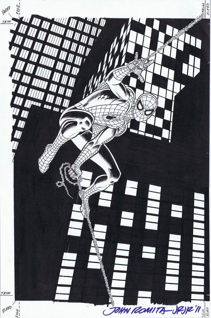 TV Guide Cover Spider-man by John Romita Sr.