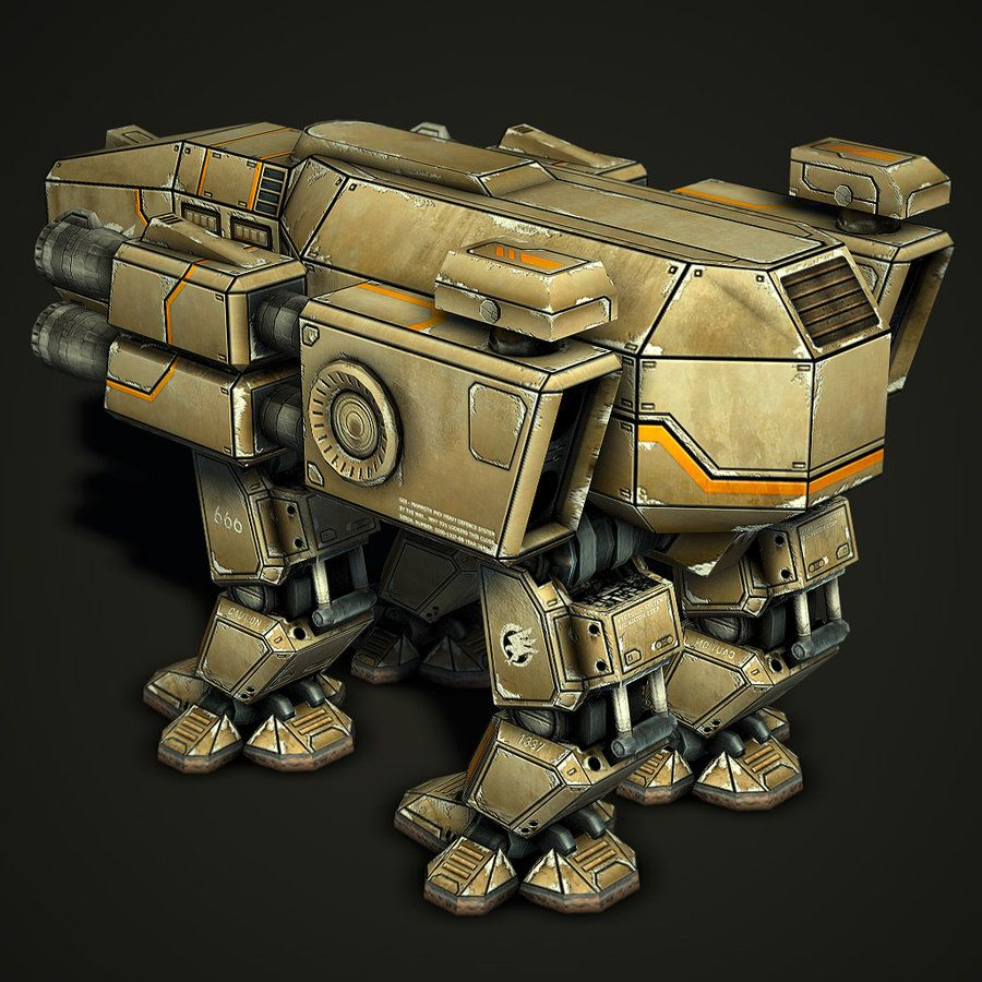 GDI Mammoth MK.V Rear. Mammoth, Real time strategy, Real