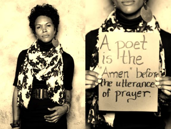 Dominique Christina - Amazing poet, truth teller, and woman!