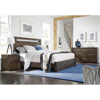 Parkside 48piece King Bedroom Set Nick Maia Make A Home Unique Storage In Bedrooms Set