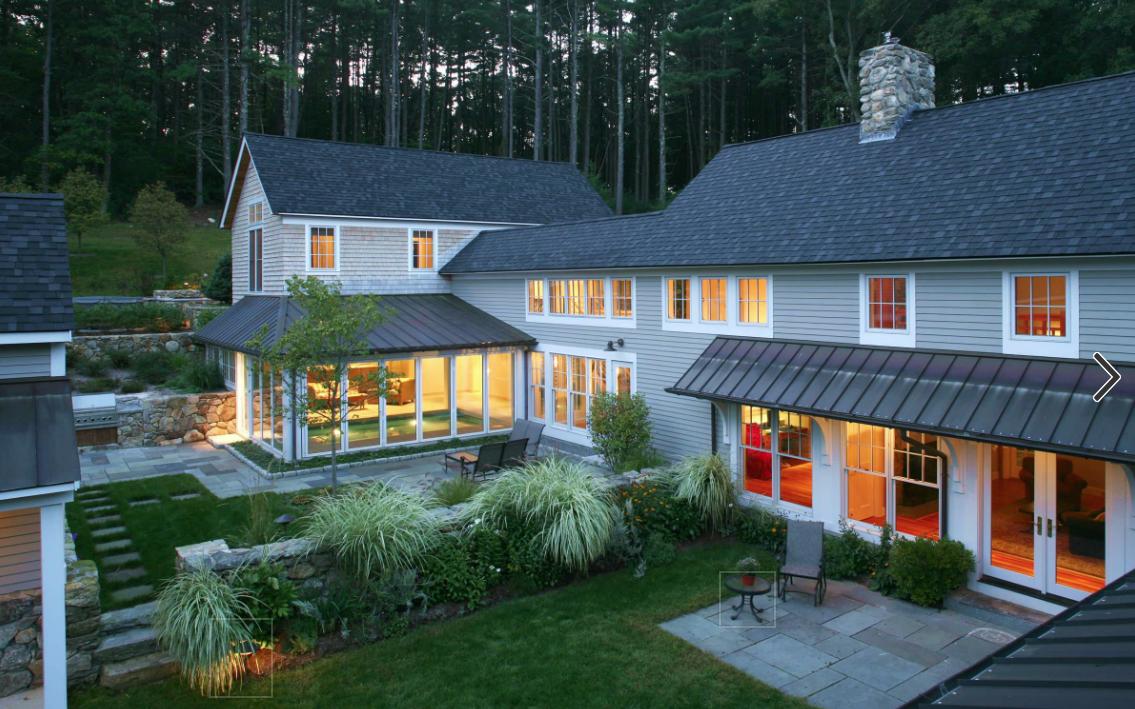 roof gaf charcoal copper standing seam roof shingles u0026 trim