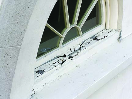 window ledge shelf | How to Repair Dry Rotted Window Sills Rotting ...