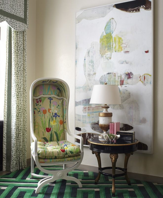 Eclectic, French Provincial, Traditional Family Room, Gallery, Great Room, Living Room   Summer Thornton Design, Inc.   Dering Hall Design Connect In partnership with Elle Decor, House Beautiful and Veranda.