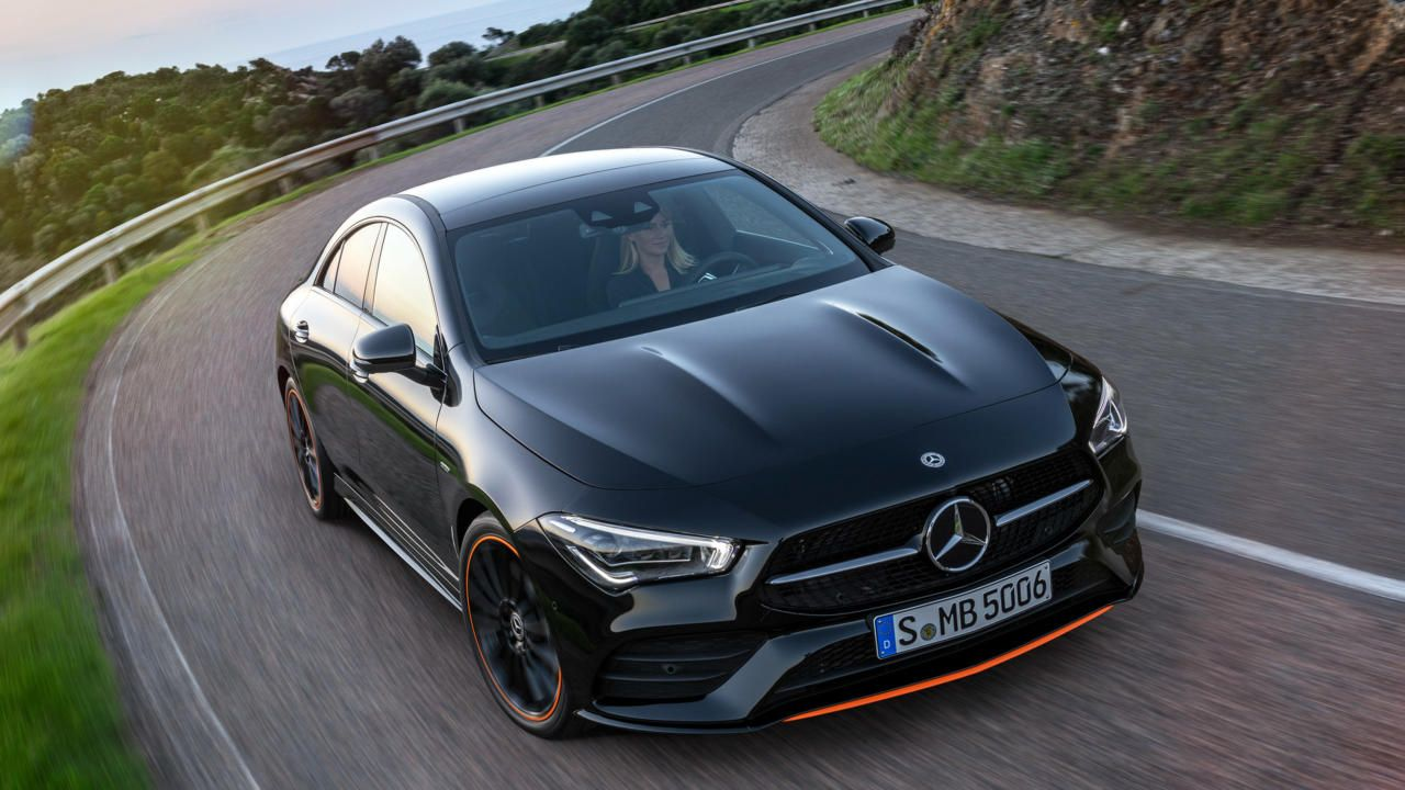 The New Mercedes Benz Cla Coupe Mercedes Benz New Mercedes