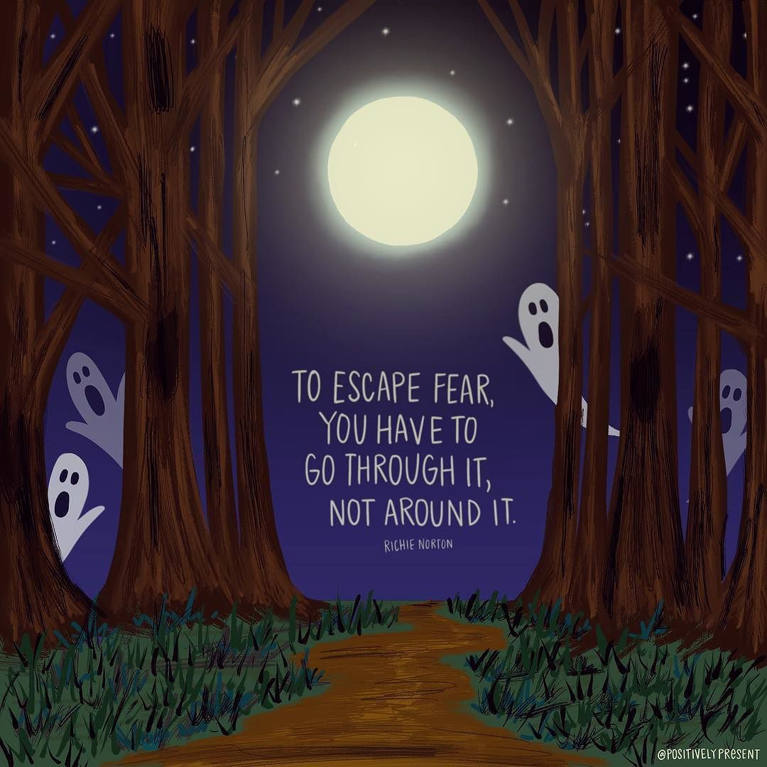 Happy Halloween friends! Face your fears! (With images