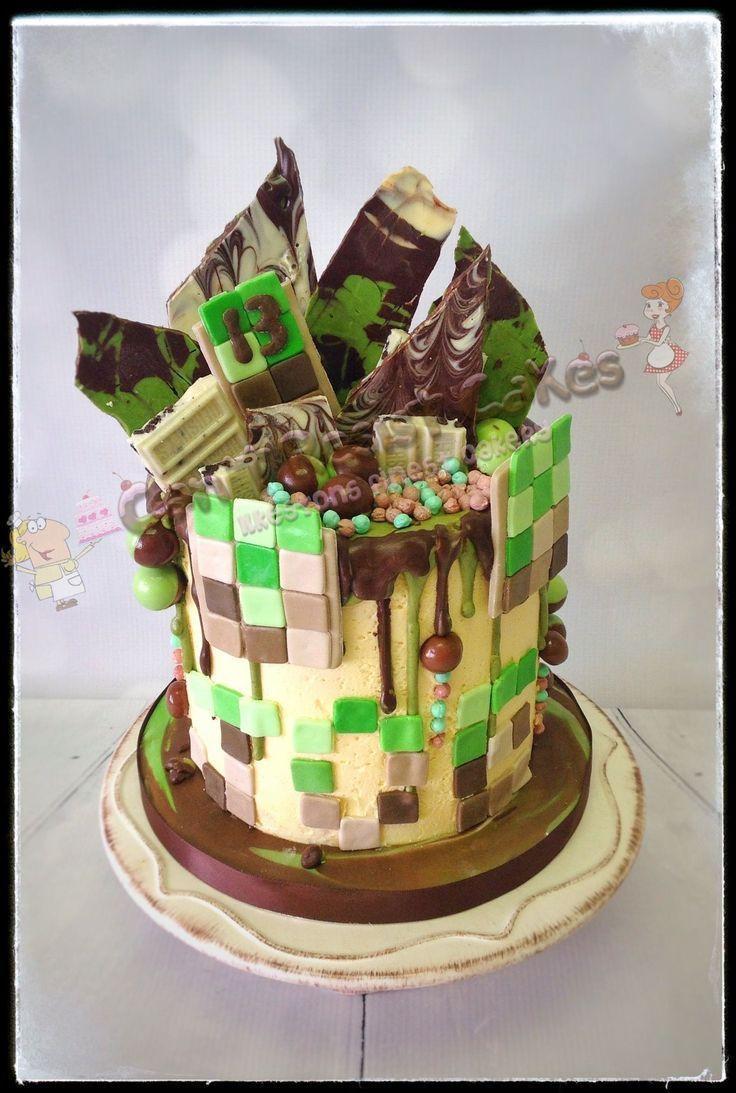32 elegant photo of minecraft birthday cake