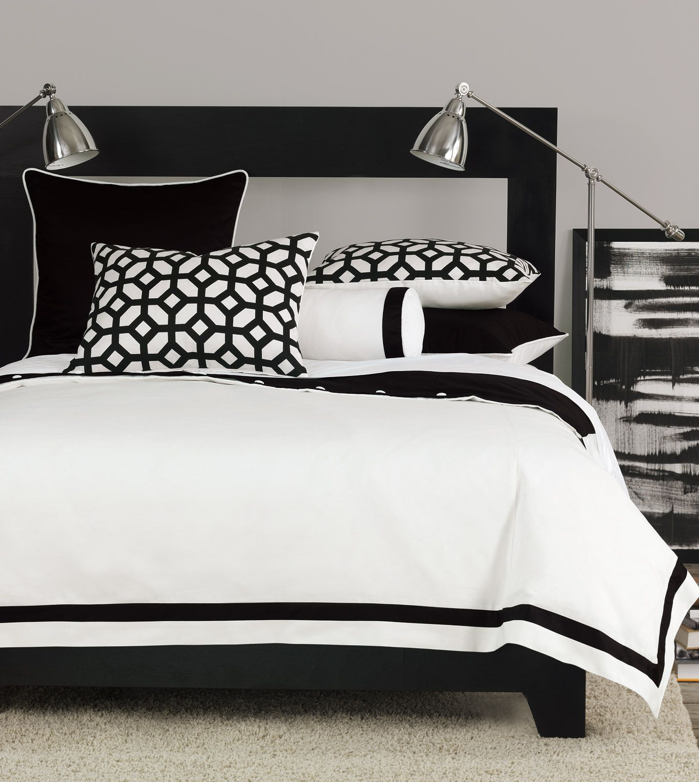 Niche Luxury Bedding Palmer Collection With Images White Bed