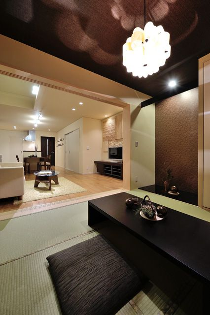 Japanese Modern House, Japanese Style, Asian Room, Washitsu, Japanese Interior  Design, Modern Houses, Tiny Living, House Plans, Bedrooms