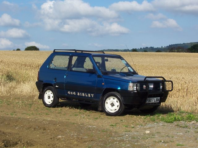 Fiat panda 4 x 4 sisley vintage offroad pinterest for Panda 4x4 sisley off road