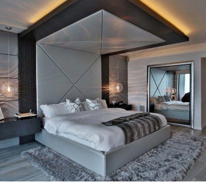Beautiful!   Bedroom bed design, Contemporary bedroom ...