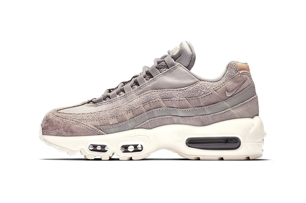 free shipping c1f66 bf22d Get the Suede Touch With Nike s Air Max 95