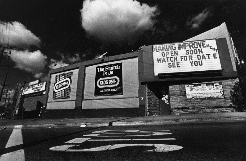 Starwood Club In West Hollywood 1982  Los Angeles -4456