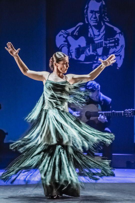 Ballet Flamenco Sara Baras in Voces, Suite Flamenca, March 2015, © Jullete Valtinedas.