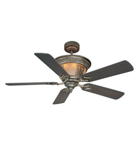 Savoy House Tuscan Iron The Artesno 52in Indoor Ceiling Fan in Rustico Gold 52-990-MO-61 | Savoy Lighting Lights | Savoy House | Savoy House Lighting | Savoy Lighting | Savoy House Light Fixtures | Lighting New York | Lighting Fixtures