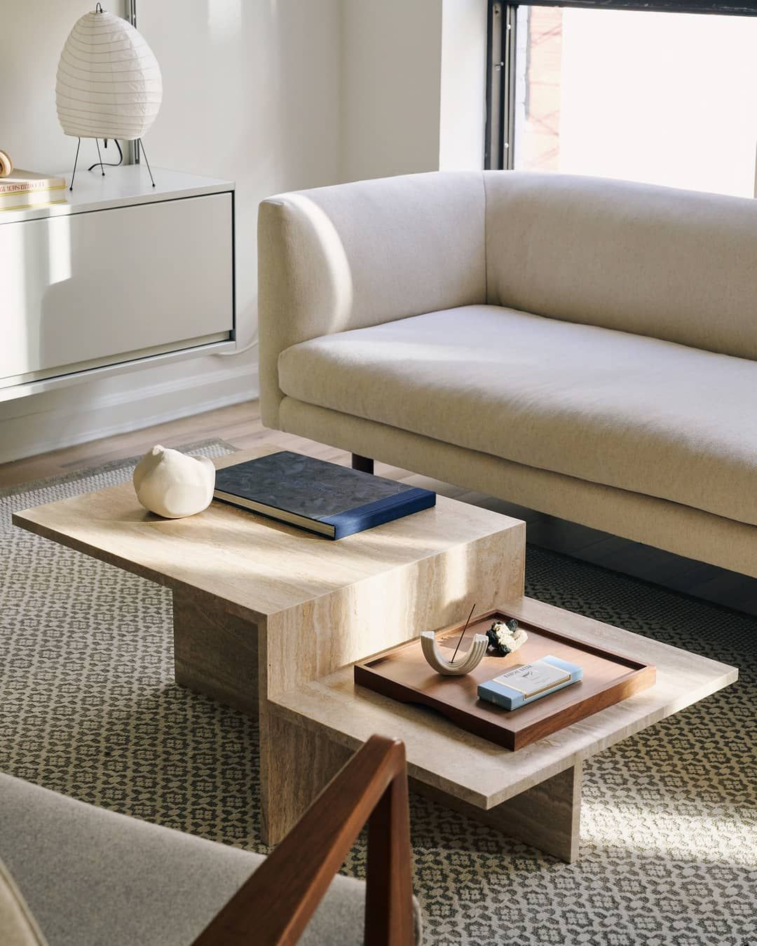 Distinct Coffee Table Coffee Table Plywood Coffee Table Travertine Coffee Table [ 1350 x 1080 Pixel ]