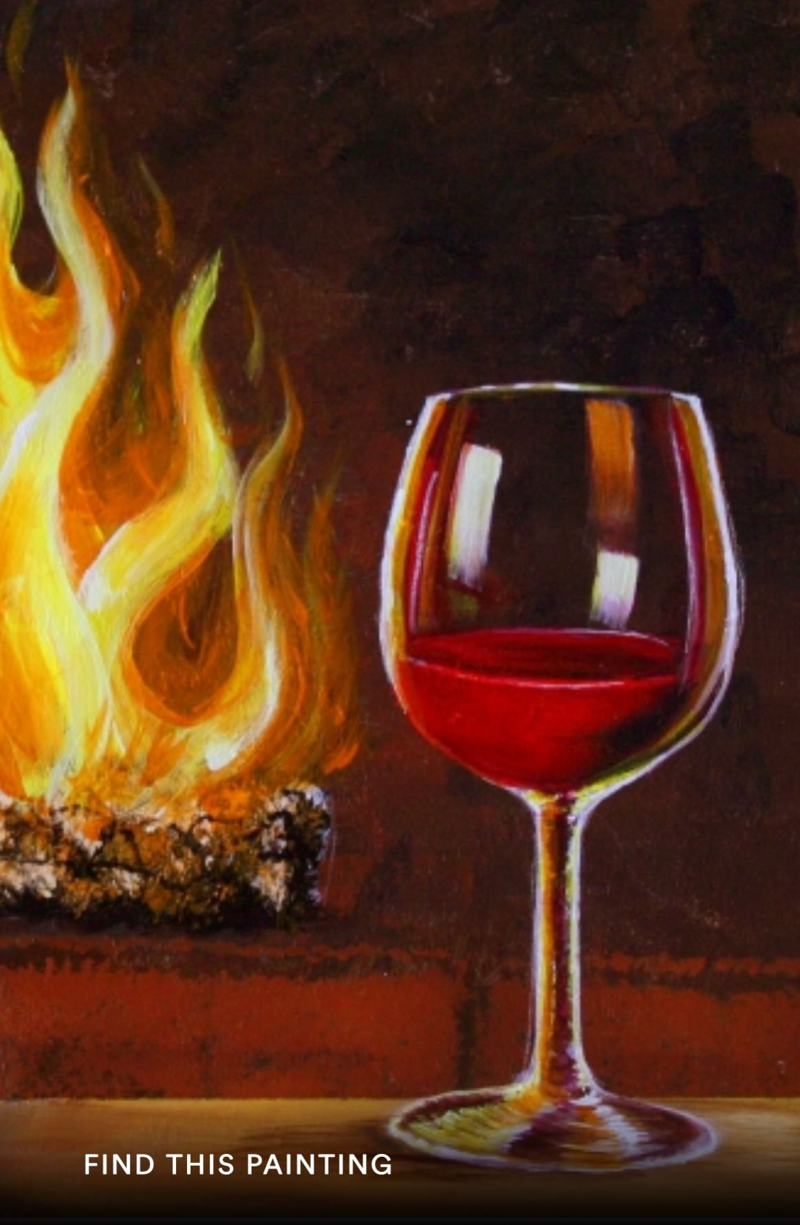 Pin By Marina Bournisent On Painting Ideas Wine Painting Painting Art Projects Acrylic Painting Canvas