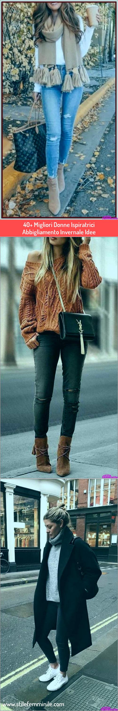 Photo of Super 40+ Le migliori idee d'ispirazione per abbigliamento invernale da donna …