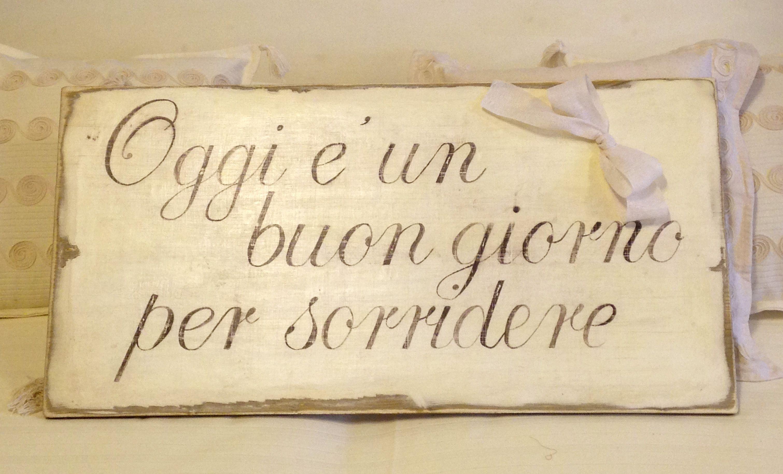 Scritte su legno personalizzate: Atelier Maison AM Via IV