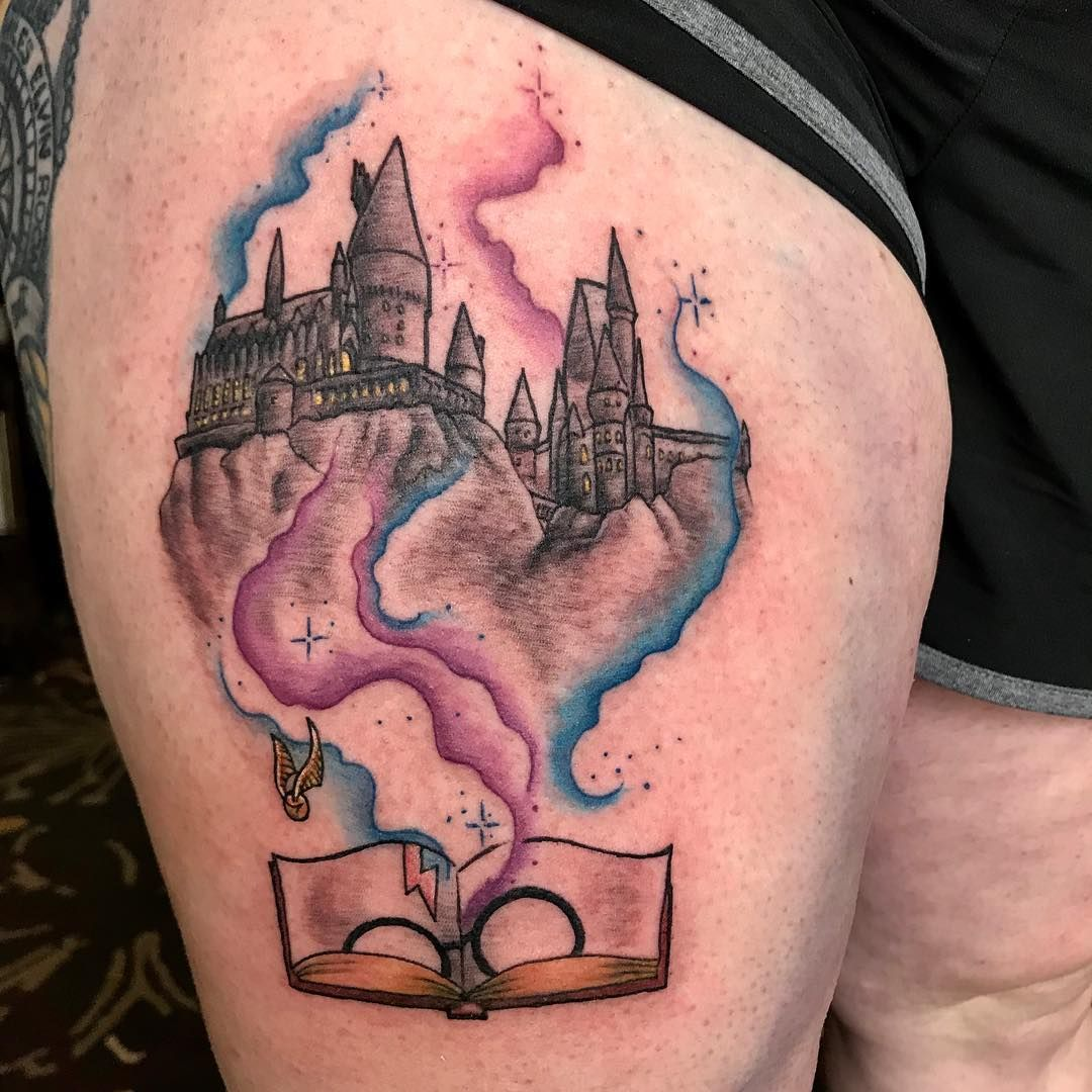 540b166f8 Harry Potter fans flock to literary tattoo convention | KOMO | Harry ...
