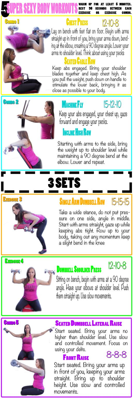 Check out my super sexy body workout this months muscle