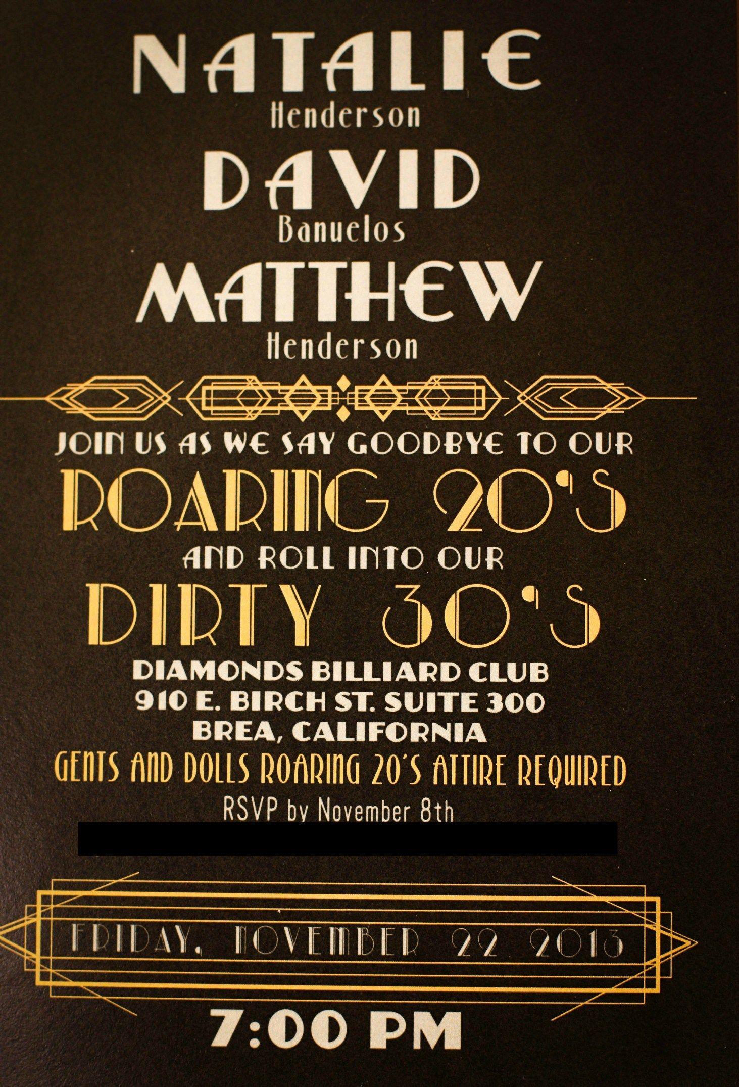 1920s-invitation.jpg (1463×2151) | *Great Gatsby Dinner & Dancing ...