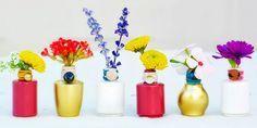 10 Inteligentes maneras de REUTILIZAR los frascos vacíos del esmalte para uñas