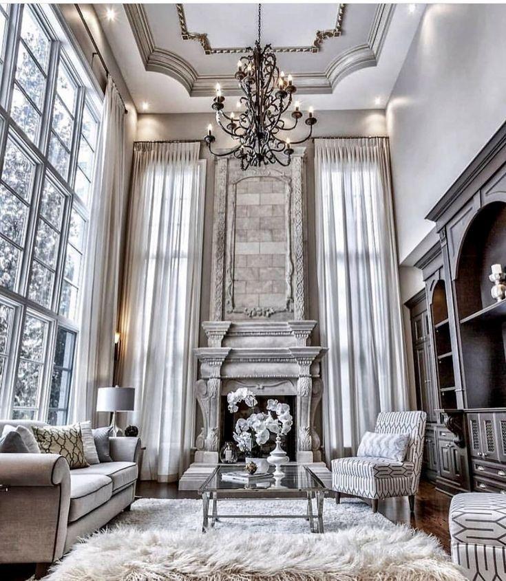 51 Dream House Stunning Dream Home Designs Interiors And Exterior 19 Lingoistica Com Elegant Living Room Decor Mansion Living Room Mansion Living