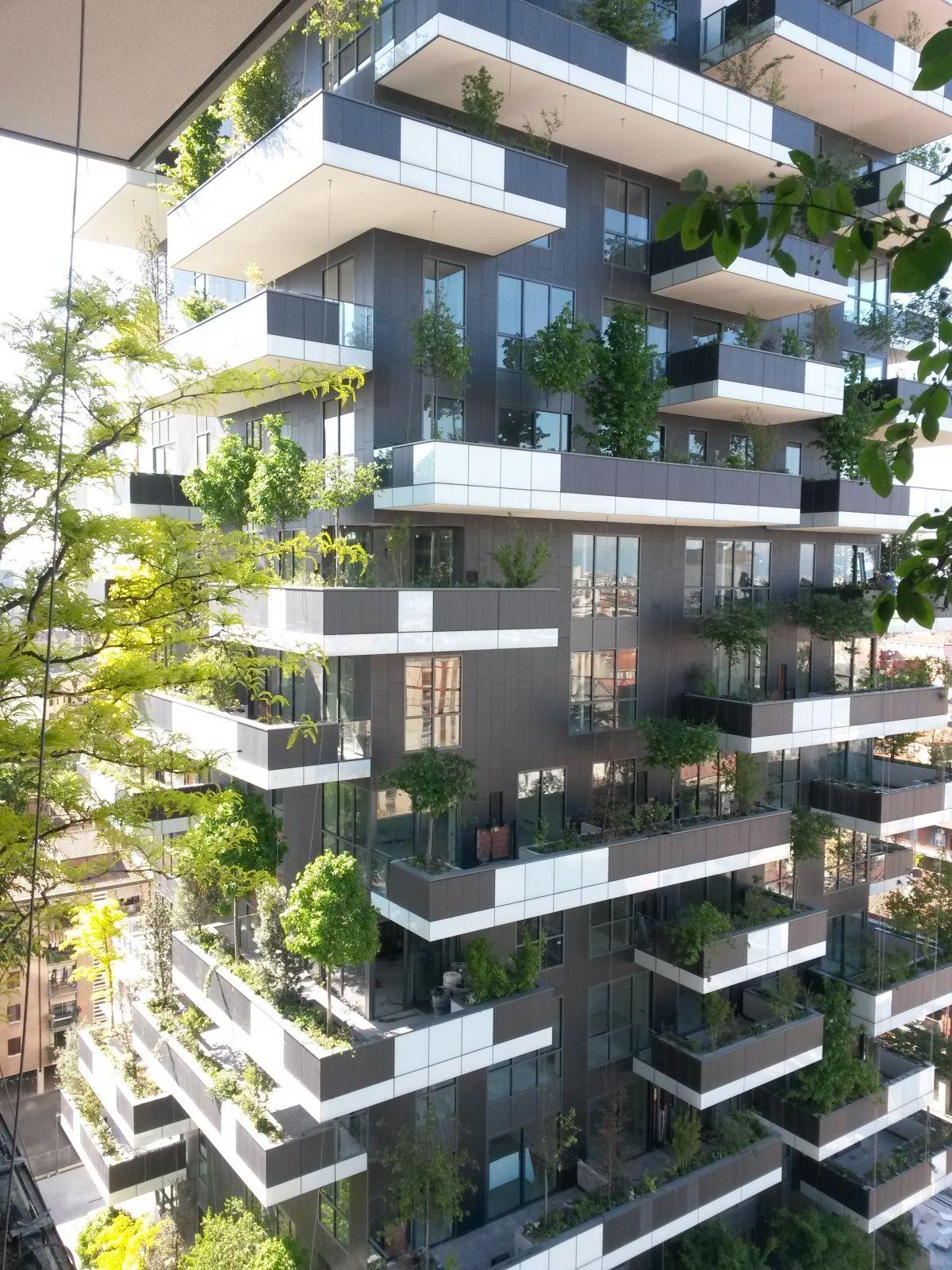 Upright Forest, Milan Architecture Pinterest Milan