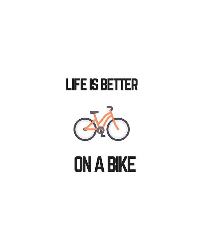LIFE IS BETTER ON A BIKE | Graphic T-Shirt | = BICYCLE LOVE