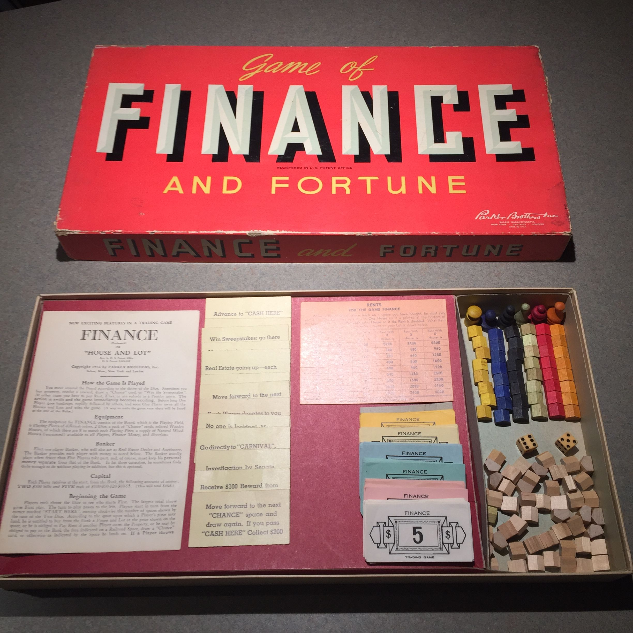 1936: Finance and Fortune Game 1 of 6