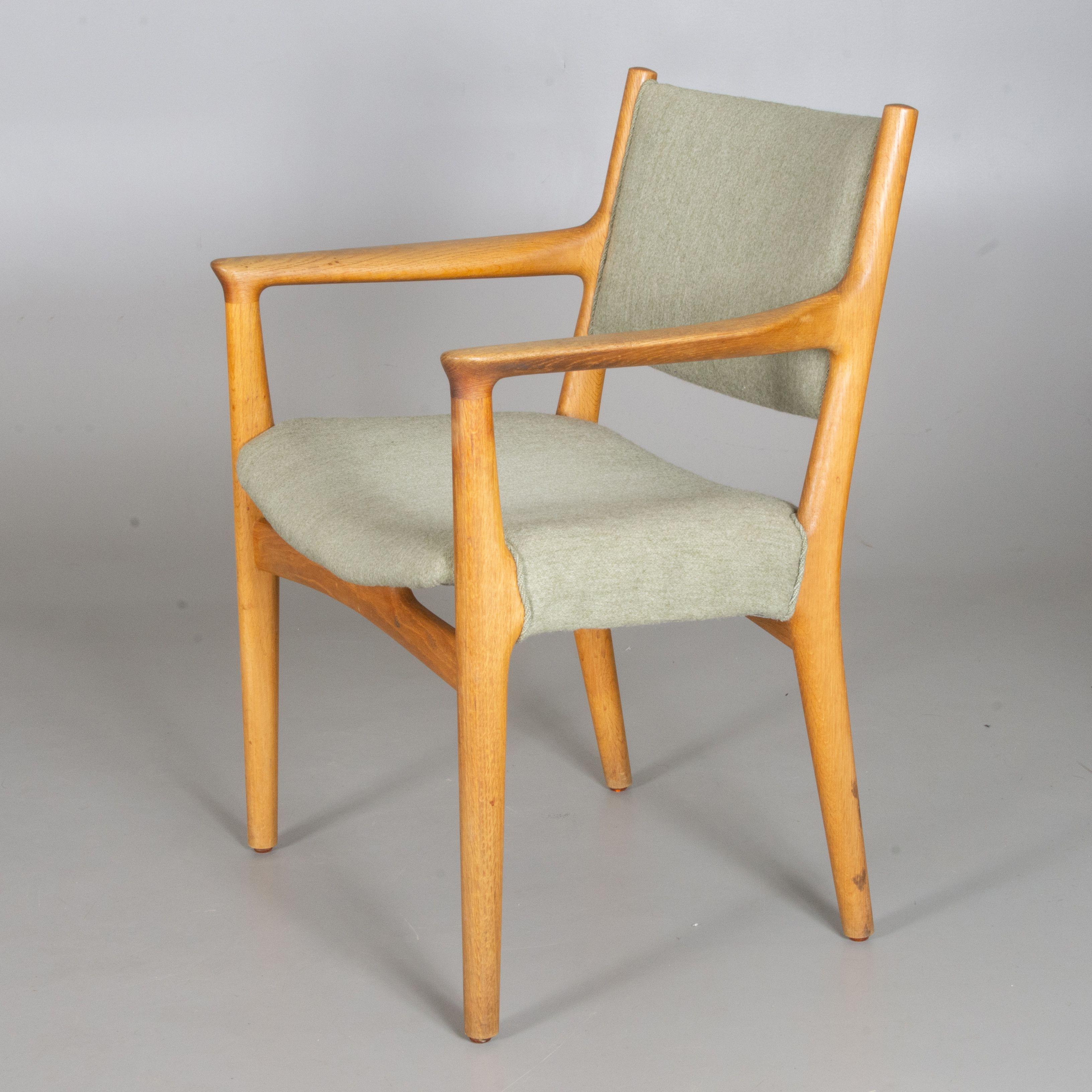 Hans J Wegner Jh507 Johannes Hansen Denmark 1955 Furniture