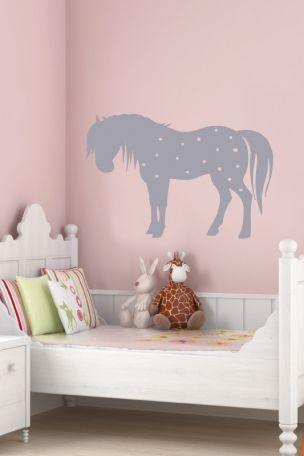 Wandtattoo Pferd kleiner Onkel … | Pinterest | Wandtattoo pferd ...