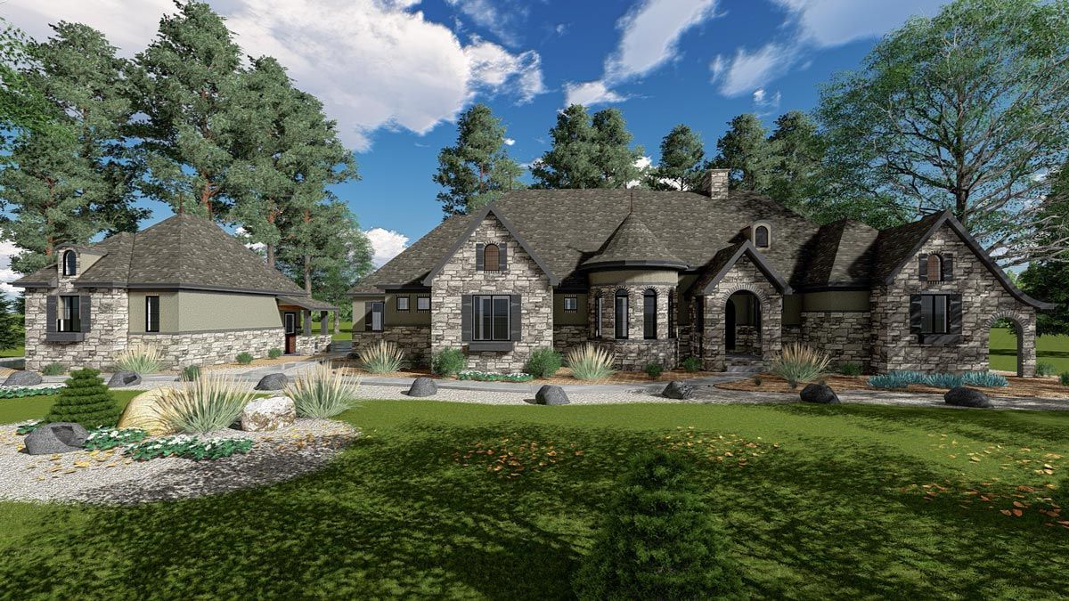 Luxury House Plans Architectural Designs 8 Meaning French