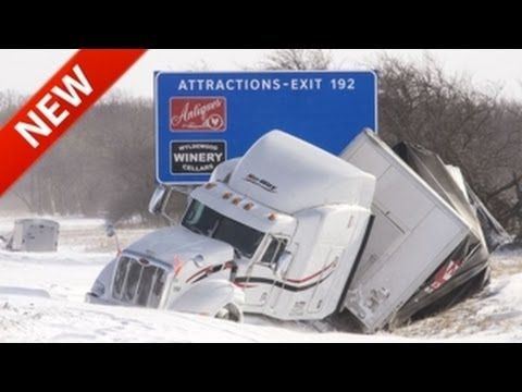 CRAZY Truck Crashes, Truck Accidents Compilation Polar