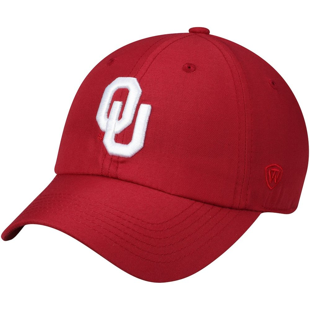 fantastic savings new collection low price sale Men's Top of the World Crimson Oklahoma Sooners Primary Logo ...