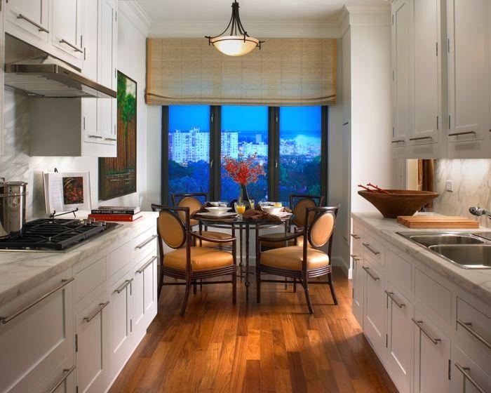 kleine küche einrichten kücheneinrichtung balkongestaltung ideen - kleine küchen beispiele