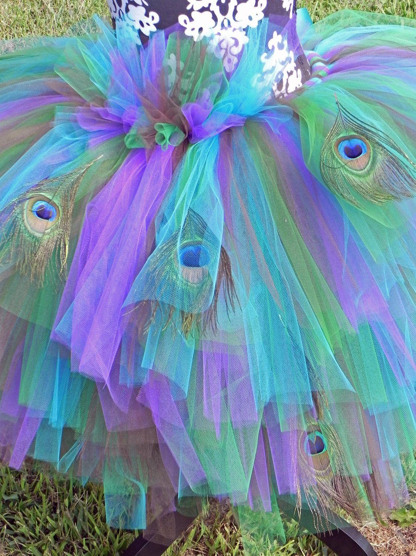 Peafection Peacock Adult Elaborate Tutu Costume. $110.00, via Etsy ...