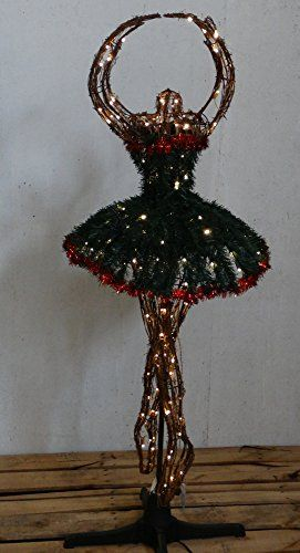 The Jewelry Box Ballerina Shaped Artificial Christmas Tree 6 Foot