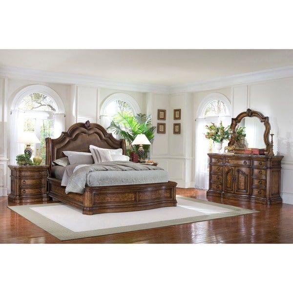 montana piece platform king size bedroom set free shipping today