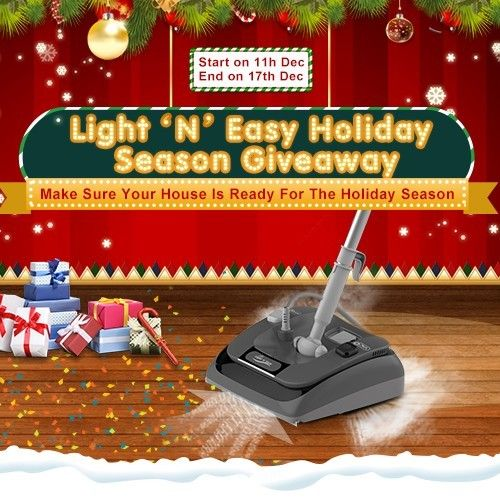 Win A 2 In 1 Vacuum Steam Mop By Light N Easy Steam Mop Vacuums Giveaway