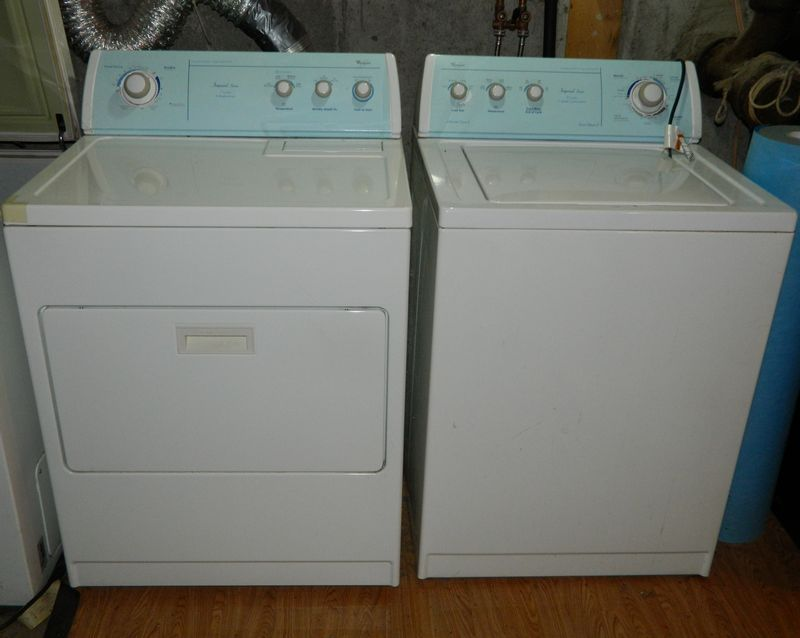 Whirlpool Imperial Series Commercial Quality Washer Dryer Combo
