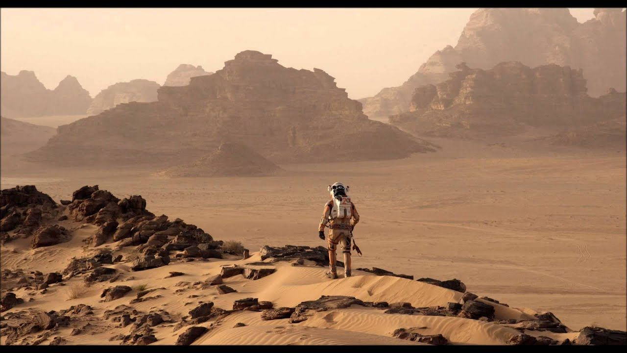 The Martian Ost Making Water The Martian Science Fact Filming Locations
