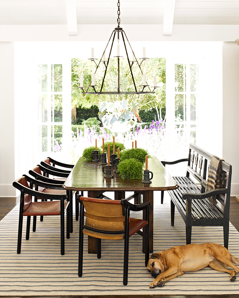 Casual Dining Rooms Decorating Ideas For A Soothing Interior: Interior Design, Jeffrey Alan Marks, Million Dollar