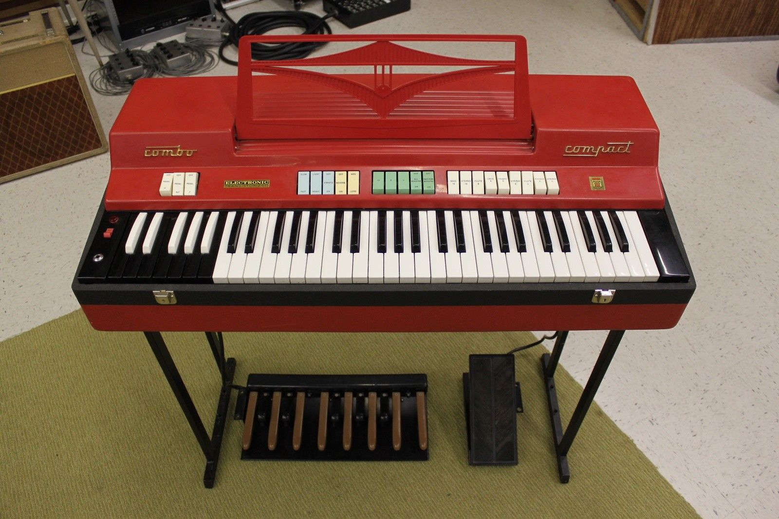 Farfisa Combo Compact Organ | Reverb | Hey Danny, buy this for me