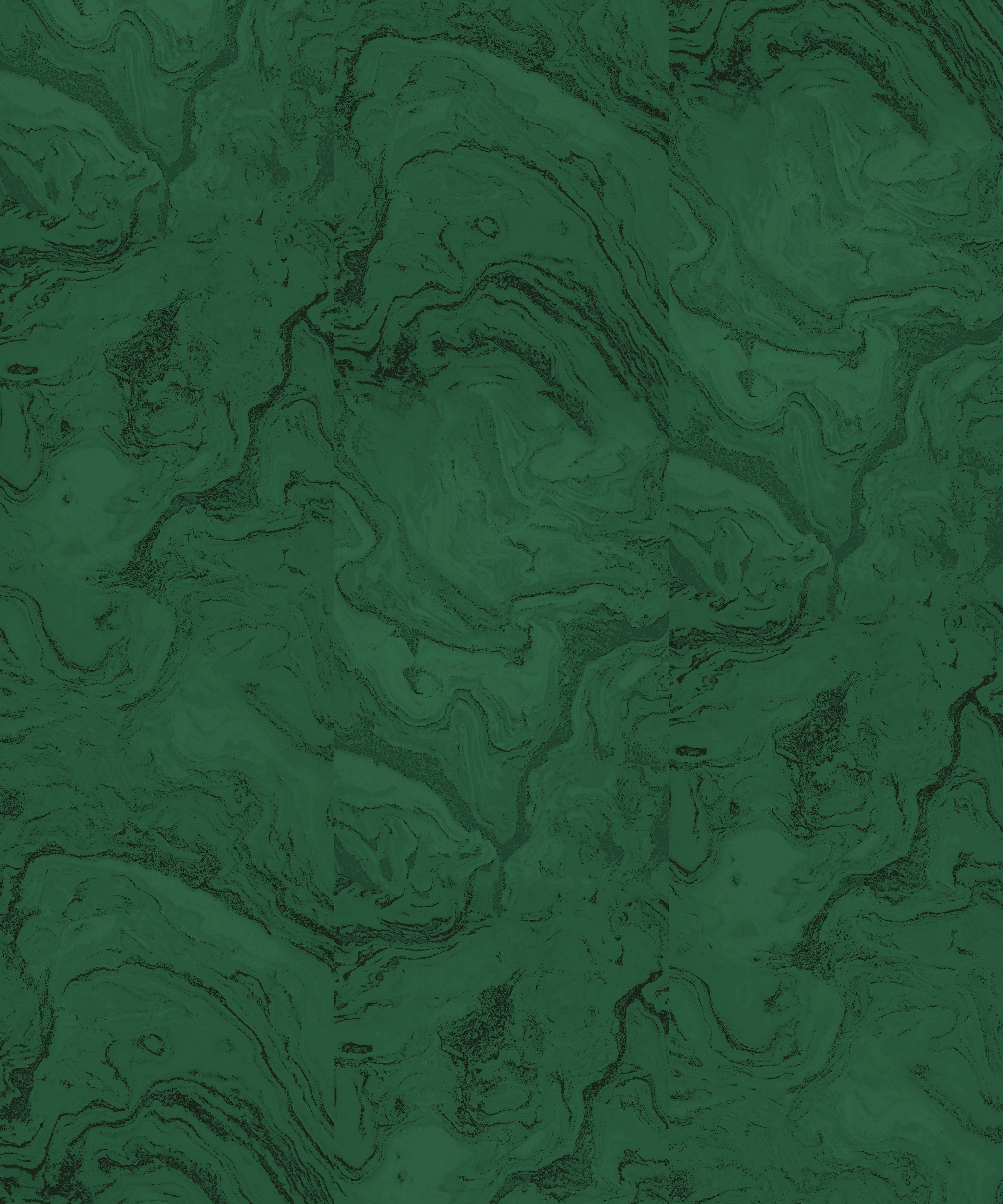 Green Marble Wallpaper Mural by Sarah Sherman Samuel