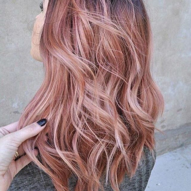 Rose Gold Hair Is The Hottest Trend This Season Rose Gold