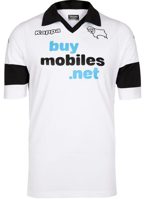 d9f16a490d6 Derby County Kit 2013-2014 Kappa Home Shirt