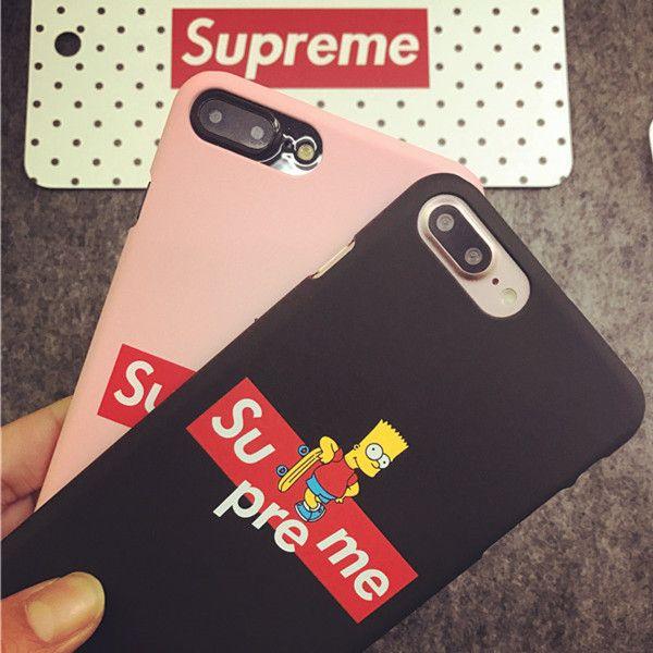 supreme simpson plastic iphone6 6s plus iphone 7 7 plus. Black Bedroom Furniture Sets. Home Design Ideas